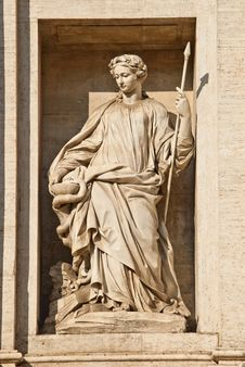Free Trevi Fountain Royalty Free Stock Photo - 20747615