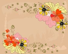 Free Floral Background Royalty Free Stock Image - 20747636