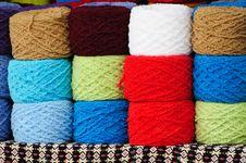 Free Colorful Knitting Yarns Royalty Free Stock Photo - 20749075