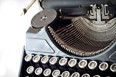 Free Old Typewriter Royalty Free Stock Photography - 20749597