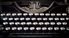Free Old Typewriter Royalty Free Stock Image - 20749626