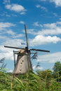 Free Windmill Near Kinderdijk In NL (UN World Heritage) Stock Photo - 20750420