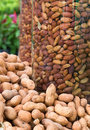 Free Peanuts In Glass Jars Royalty Free Stock Image - 20750636