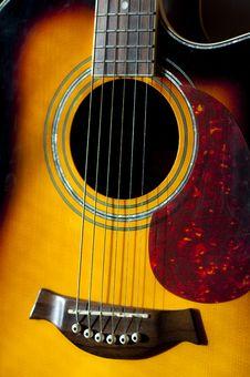 Free Guitar Details Stock Image - 20750011