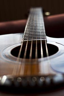 Free Guitar Details Stock Image - 20750051