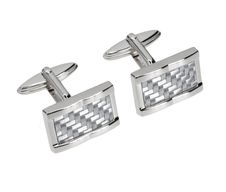 Free Silver Cuff Link Royalty Free Stock Photos - 20750288