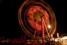 Free Ferris Wheel In Motion Royalty Free Stock Photos - 20751328