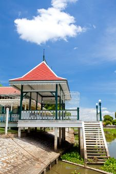 Free Pavilion In River Royalty Free Stock Image - 20751626