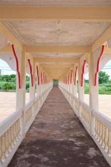 Free Old Corridor Stock Photography - 20751942