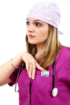 Beautiful Nurse Royalty Free Stock Photos