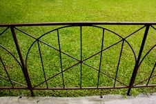 Free Lawn Grass In Fence Stock Photo - 20753010