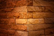 Free The Brick Gradient Column Royalty Free Stock Photography - 20753047