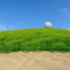 Free Golf On Grass Course Royalty Free Stock Photo - 20753785