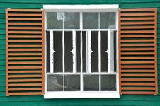 Free Big Window In Grid And Color Royalty Free Stock Photography - 20755267
