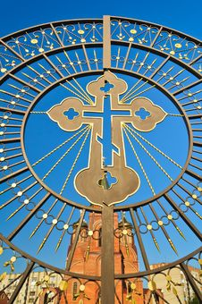 Free The Church Against The Blue Sky Royalty Free Stock Image - 20755776