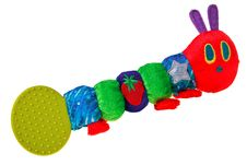 Free Colorful Baby Toy Rattle Bug. Royalty Free Stock Photos - 20755798