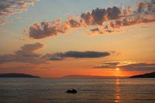 Free Croatian Sunset Stock Photo - 20756050