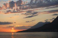 Free Croatian Sunset Stock Image - 20756071