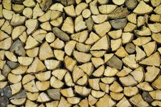 Free Pile Of Fire Wood Stock Images - 20756154