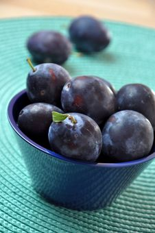 Free Plums Royalty Free Stock Image - 20756536