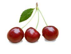 Free Three Cherries Stock Photo - 20756550