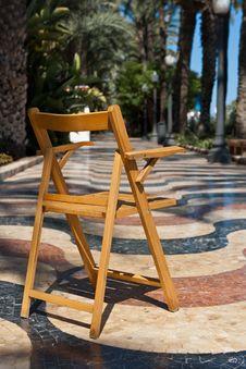 Promenade In Alicante Royalty Free Stock Photo