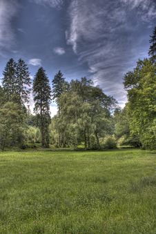 Free Summer Dark Day In The Park By Hdr Stock Images - 20757094
