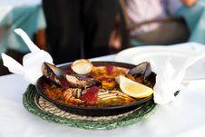 Free Seafood Paella Stock Photos - 20757103