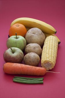 Free Fruit And Vegetables Stock Photography - 20757422