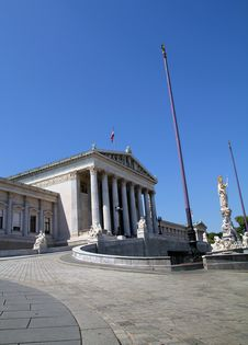 Free Austrian Parliament Stock Photography - 20757972