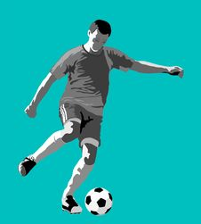 Free Soccer Player Stock Photos - 20758203