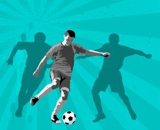 Free Soccer Royalty Free Stock Photos - 20758238