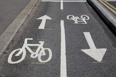 Free Bike Lane Stock Photography - 20758252