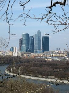 Free Moscow Skyscrapers Stock Photography - 20758352