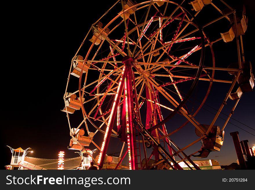 Ferris Wheel @ Dusk