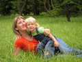 Free Happy Woman With Child Stock Photos - 20761763