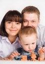 Free Family Of  Three Royalty Free Stock Image - 20763026