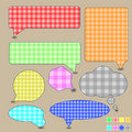 Free Bubble Speech Textile Stock Image - 20766181