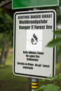 Free Danger. Forest Fire Stock Photos - 20768883