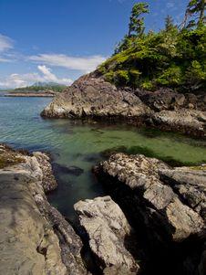 Free Rocks Sea And Sky Stock Image - 20760311