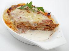 Free Lasagna Bolognese Royalty Free Stock Photos - 20760398