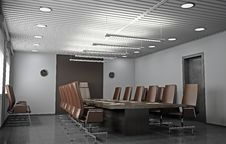 Free Office Interior Royalty Free Stock Images - 20760409