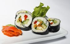 Free Sushi Royalty Free Stock Photography - 20760427