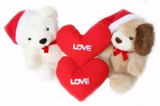 Free White Teddy Bear. Royalty Free Stock Images - 20761159