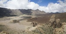 Free View From Peak Teide Stock Image - 20761431