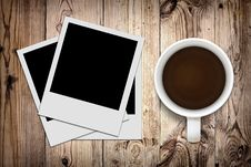 Free Blank Photo And Coffee Stock Image - 20761791