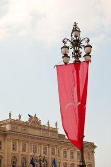 Free Trieste S Gonfalon Royalty Free Stock Photography - 20761927