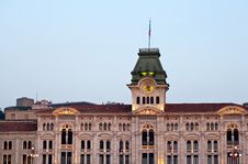 Free Town Hall, Trieste Royalty Free Stock Photography - 20762027