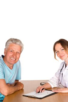 Free Doctor And Patient Stock Photography - 20762152