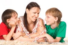 Free Mom And Sons Stock Image - 20762231